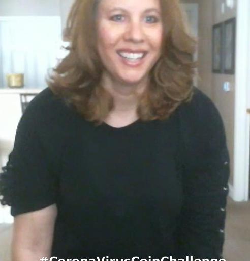 Lisa Caterbone's Coronavirus Coin Challenge